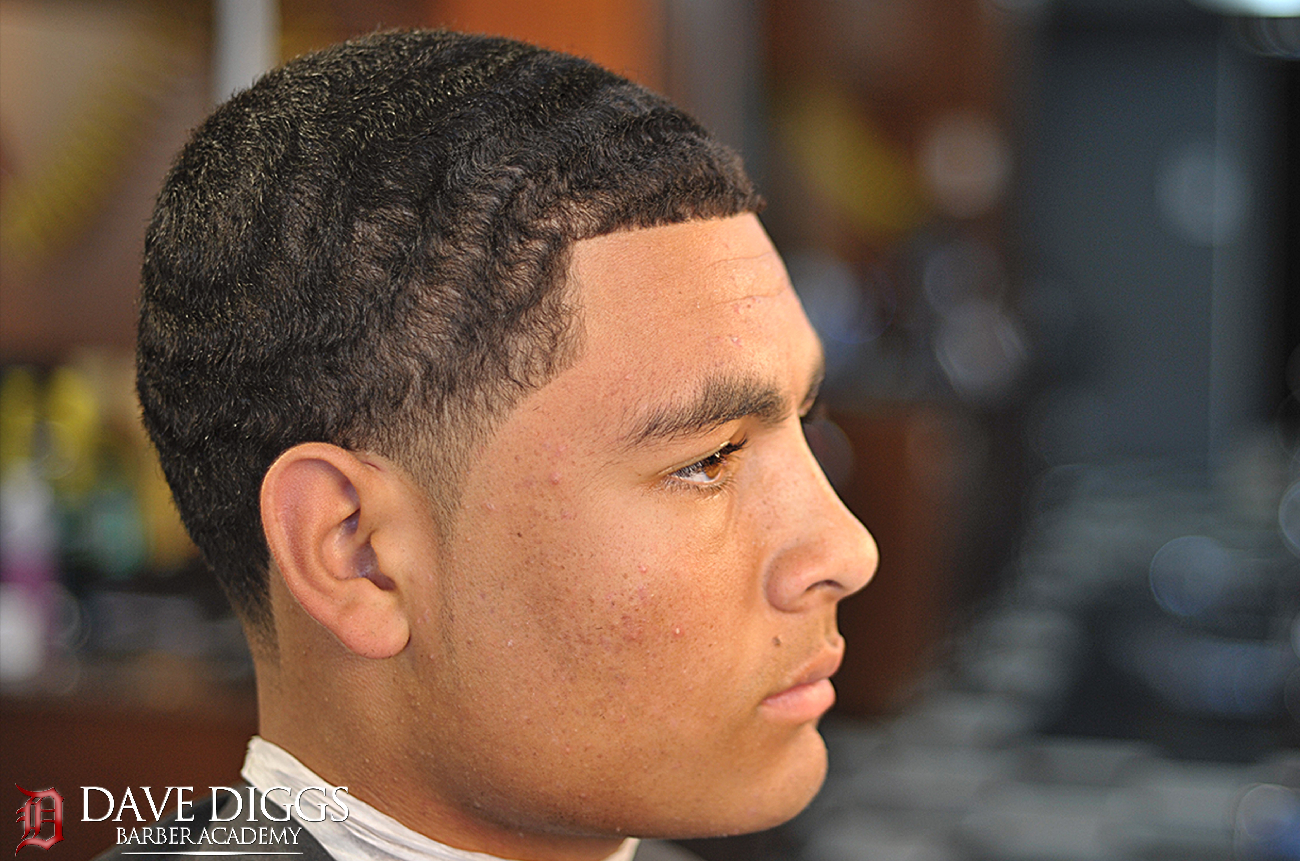 Free Shadow Taper 2 On Top Wave Length Taper Fade