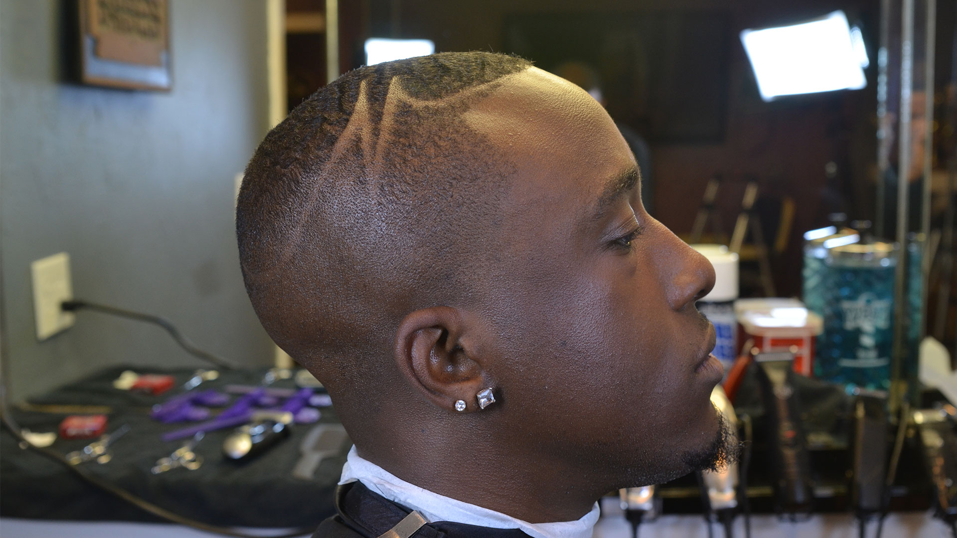 Full Version Wave Length Bald Fade African American Hair