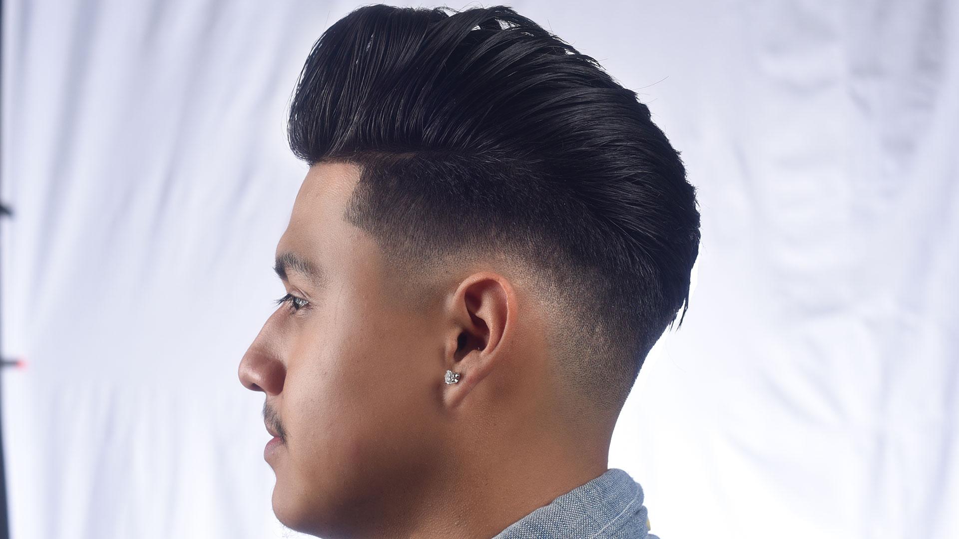 Pompadour W Drop Zero Fade Dave Diggs Online Barber